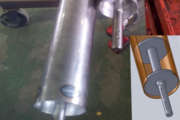 101.6×2 Seamless steel tube for High speed door